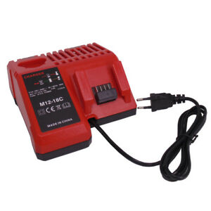 100-nuovo-caricabatterie-Milwaukee-M12-18C-per-Akku-s-M12-M14-e-M18