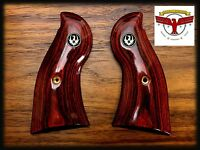 Ruger Redhawk Oxblood Grips With Medallions ^