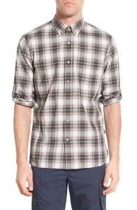 NWT-John-Varvatos-Trim-Fit-Plaid-Sport-Shirt-NWT-XL-2XL-XXL