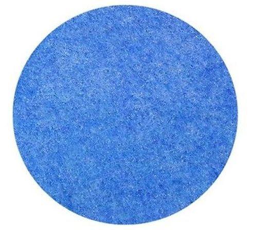 1m² Reinigungs  Plüsch Stoff blau  26 m Rolle  Fliesen Polyester MR11-5