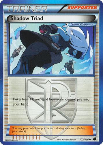 Uncommon Pokemon BW9 Plasma Freeze M//NM English x4 Shadow Triad 102//116