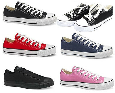 New Men /Boys Classic  Trainer Sneaker Casual Canvas Lace Up Trainer