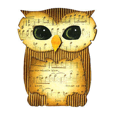 Sizzix Bigz Owl die #A10165 Retail $19.99, Cuts Fabric, Sweet Fun!!!