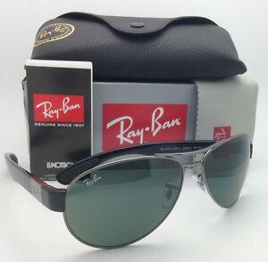 2140634aebd New Ray-Ban Sunglasses RB 3509 004 71 63-15 Gunmetal   Black w ...