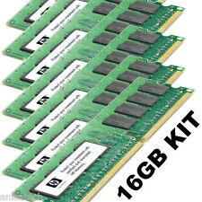 HP XW8200 16GB KIT PC2-3200 SINGLE RANK 343057-b21 1rx4 PC2-3200R | 8X 2GB DDR2