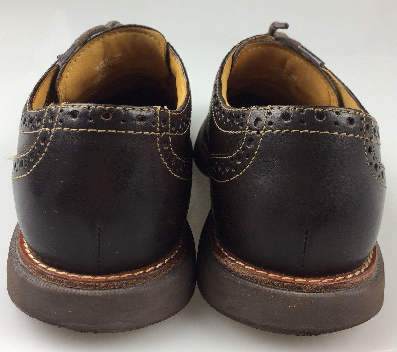 buy popular 79d88 599aa ... Mens 9M Sperry Sperry Sperry Gold Cup Bellingham Wingtip Oxford Brogue  Dark Brown Leather Shoe 70dda9 ...