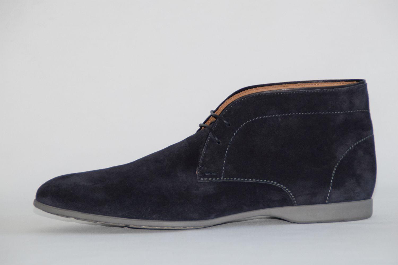 HUGO BOSS Stiefel, Gr. 43 / UK 9 / US 10,   , Made in , Dark Blau