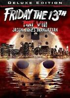 Friday The 13th Part VIII 8 Jason Takes Manhattan Horror Halloween Gift NEW DVD