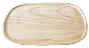 Oak-wood-tray-wooden-serving-plte-food-dish-26-x-17-cm-10-x-6-7-inches-light