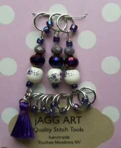 Handmade Stitch Markers for Knitting Gift for Knitters