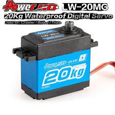 2pcs 20Kg Waterproof High Torque Digital Servo w//Metal Gear for RC 1//10 Car R8W7