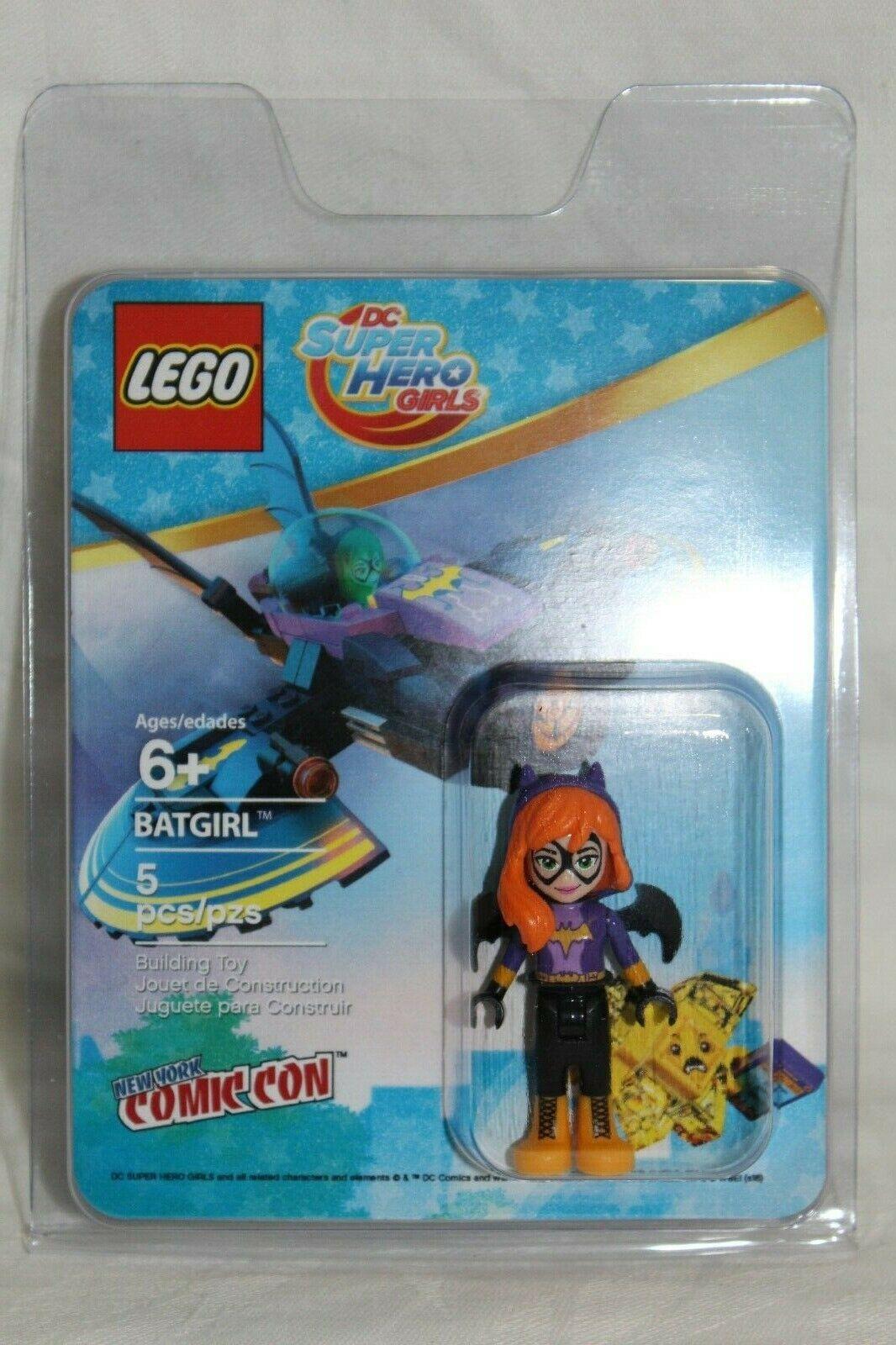 Lego minifigure New York Comic Con Batgirl nycc2016-1 GRADABLE CONDITION