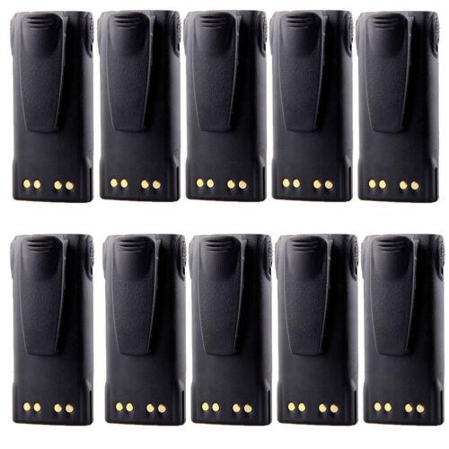 10 x 1300MAH Ni-Cd BATTERY FOR MOTOROLA HT750 HT1250 HT1550 MTX850 PRO9150 GP640