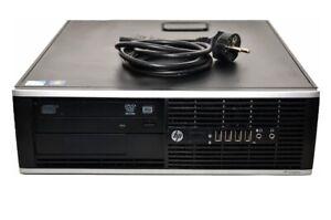 Ordinateur-PC-HP-6200-Pro-SFF-Intel-G630-2-70GHz-4GB-500Go-Win10-Pro-Grade-A