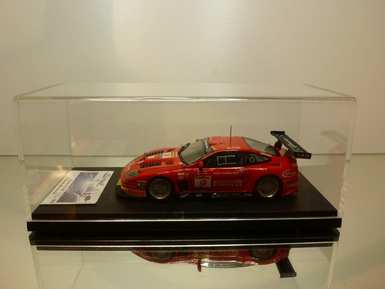 MISTRAL M016  FERRARI 575 GTC  9 -1st ESTORIL 2003 FIA-GT - rouge 1 43 -MINT IN BOX  grosses économies