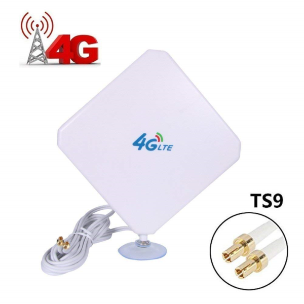 4g Lte Antenna Dual Mimo 35dbi High Gain Network Ethernet Outdoor Antenna Signal Vouw-Weerstand