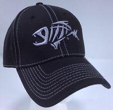 G Loomis A-Flex Pro Hat Size Medium / Large Fishing Baseball Cap Black Silver