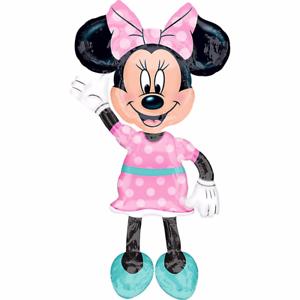 """Minnie Mouse Airwalker 54"""" Jumbo Foil Ballon Fête D'anniversaire Décoration Fournitures-afficher Le Titre D'origine Style à La Mode;"""