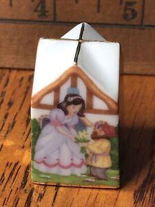 Thimble Lenox Miniature House Snow White Figurine