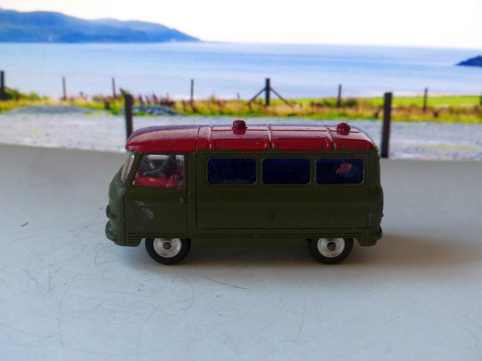 Corgi Toys 354 Military Ambulance with original box