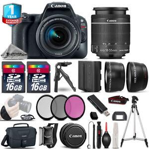 Canon-EOS-Rebel-SL2-DSLR-Camera-18-55mm-IS-STM-1yr-Warranty-64GB-Kit-Bundle