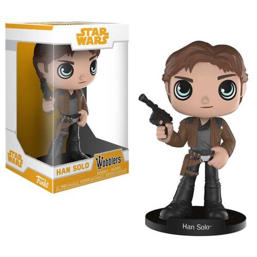 Funko Star Wars Solo Movie Wobblers Han Solo Bobble Head Figure NEW In Stock