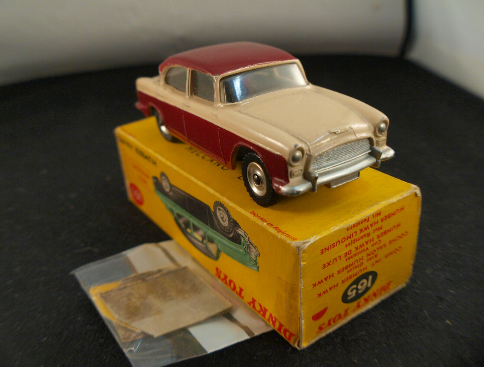 Dinky Spielzeug GB 165 Humber Hawk in Schachtel
