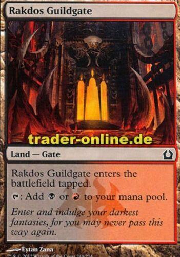 return to ravnica Magic rakdos-guildes réception 2x rakdos Guildgate