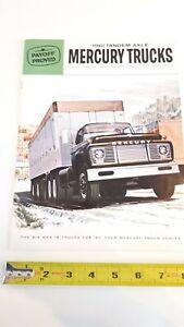 1961-MERCURY-Trucks-Original-Colour-Sales-Catalog-Very-Good-Condition-CDN