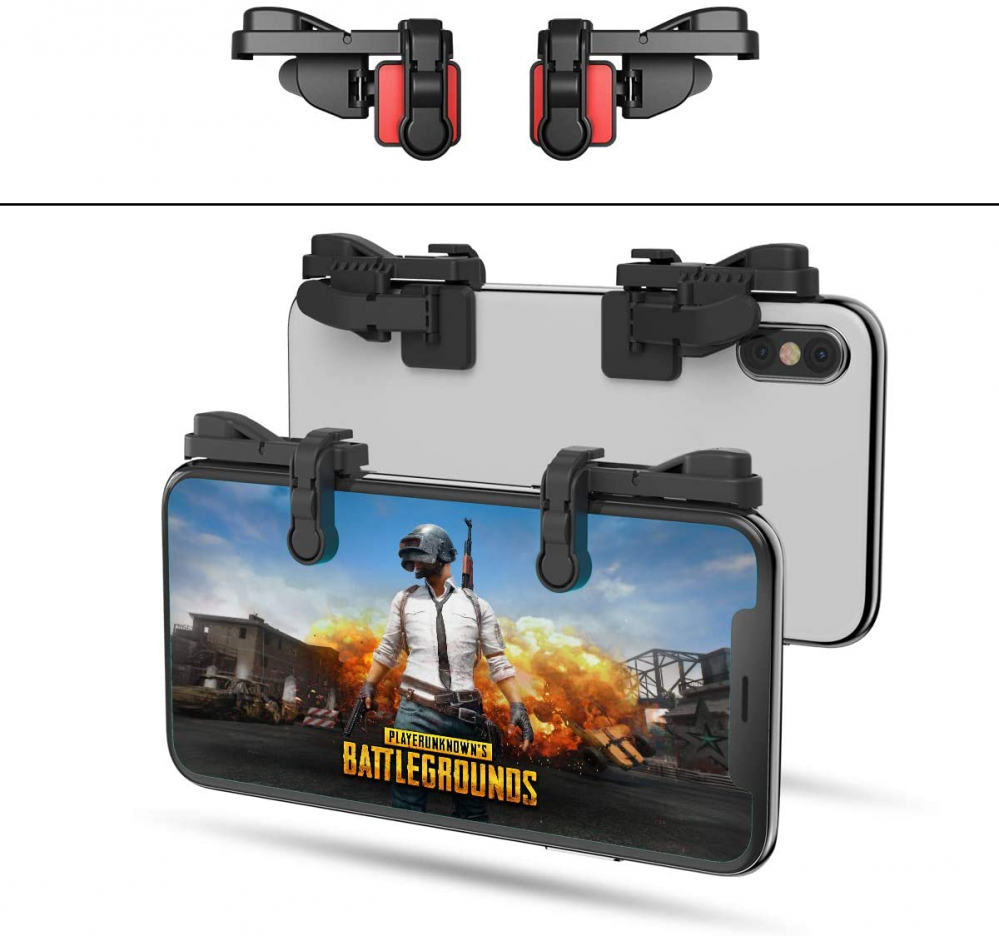 【1 Pair】 IFYOO Z108 Mobile Gaming Controller Compatible with PUBG 1 Pair