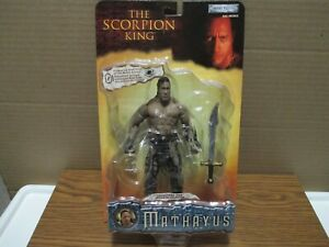 THE SCORPION KING  ACTION FIGURE ( THE ROCK ) - MINT IN PACKAGE