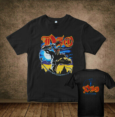 Vintage T-Shirt Dio 1984 Last in Line Tour Concert Tee 1980 Reprint Size USA
