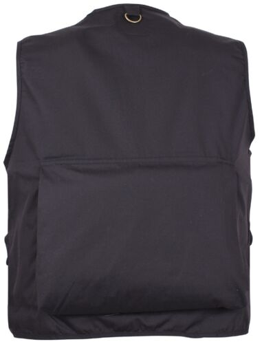 Black Tactical Uncle MiltysTravel Multi-Pocket Fishing /& Photography Vest 7531