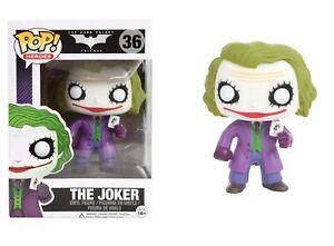 Funko Pop Heroes: il CAVALIERE OSCURO TRILOGIA-Il Joker Figura in vinile #3372
