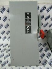 Ge Th2262dc Model 10 60 Amp 600vdc 2p 3w Fusible Disconnect