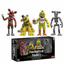 Funko Five Nights at Freddy's 4 Pack Set One Vinyl Figures NEW Toys IN STOCK
