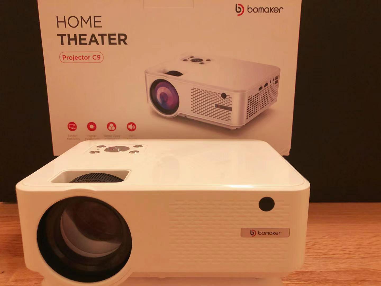 X002OTCFJZ gr-451558 Bomaker HD Mini Projector
