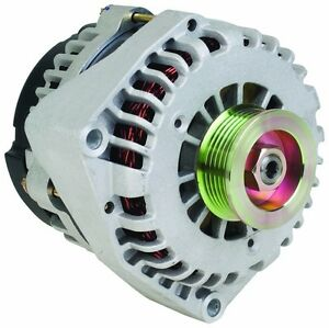 Details About 250 Amp High Output New Hd 11075n 250a 2 Pin Alternator Chevy Avalanche Tahoe