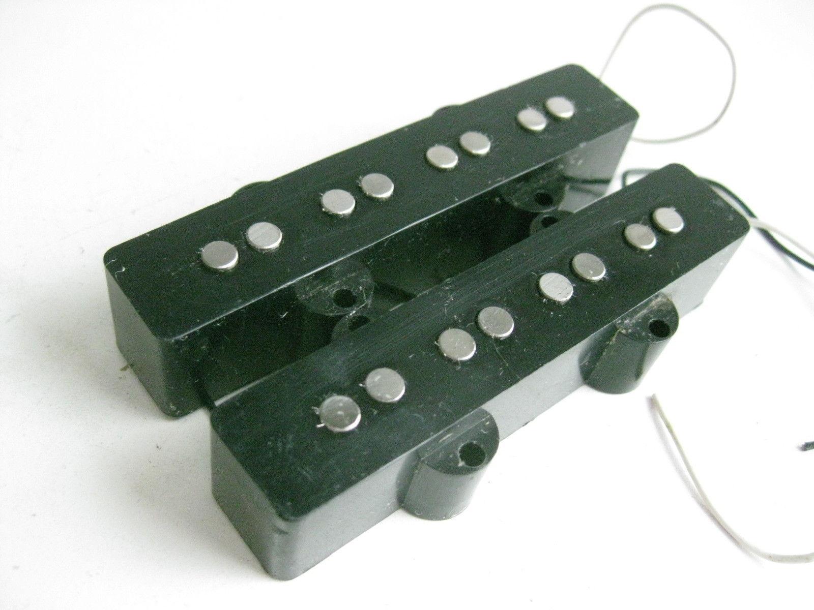 Satz 2 Fender Amerikanisch Jazz Bass Pickups - 0992123000 - Gitarre Jb - Used