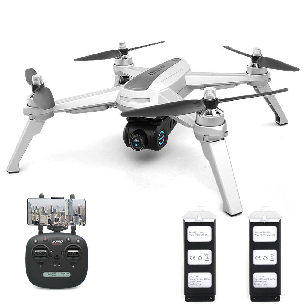 JJRC JJPRO X5 GPS 5G Wi-fi FPV RC Drone Cuadricóptero FPV 1080P HD Cámara sin escobillas