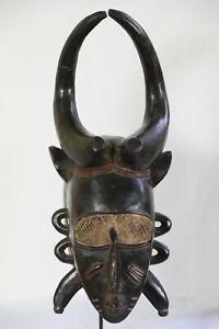 AP4-Senufo-Djimini-alte-Maske-Afrika-Masque-Senoufo-ancien-Old-tribal-mask