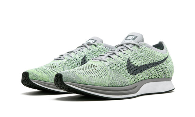 NIKE FLYKNIT RACER PEARL PINK-COOL GREY MENS SZ 13 526628-604