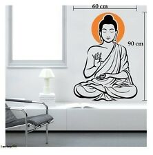 Asmi Collections PVC Wall Stickers God Buddha AS022
