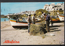 Portugal Postcard - Albufeira - Pescadores Na Praia - Fishermen  LC3120