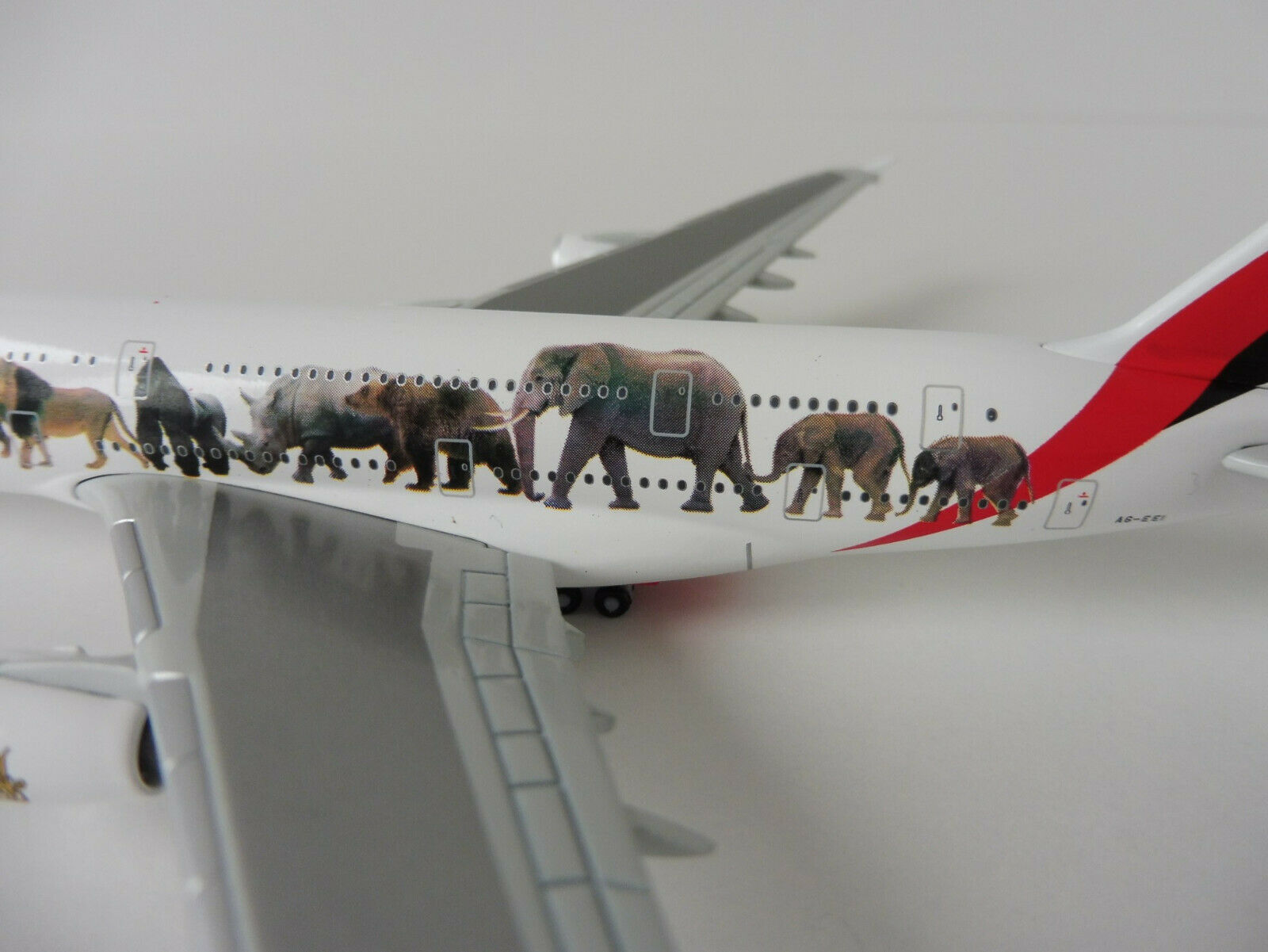 EMIRATES Airbus WILDLIFE A380-800 1 1 1 500 Herpa 531764 A 380 A380 United for f6bbb9