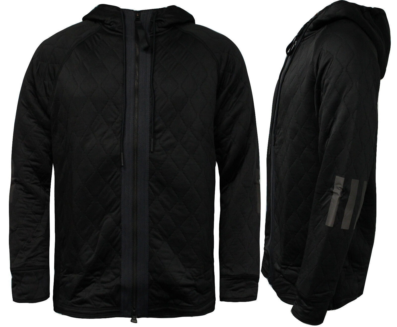 Adidas Consorcio Day  One Tech Cremallera de Hombre con Capucha Chaqueta Negra  Tu satisfacción es nuestro objetivo