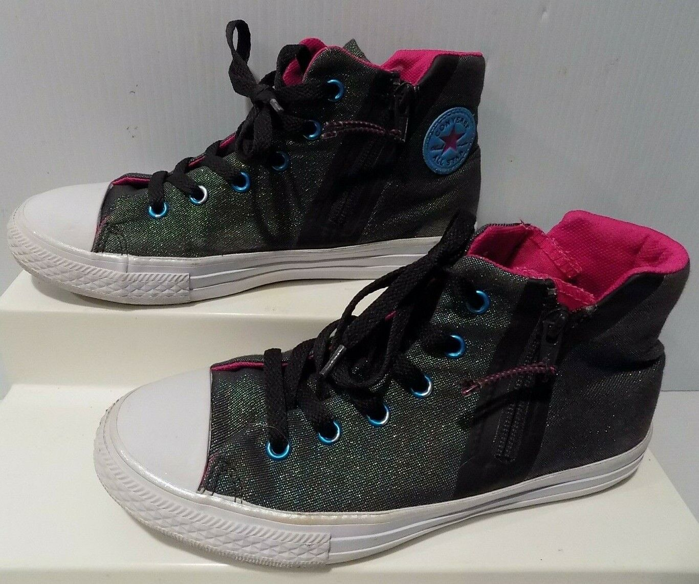 Star Sneakers Shoes Iridescent Size