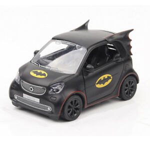 Image Is Loading 1 28 Batman Pattern Smart Fortwo Model Car