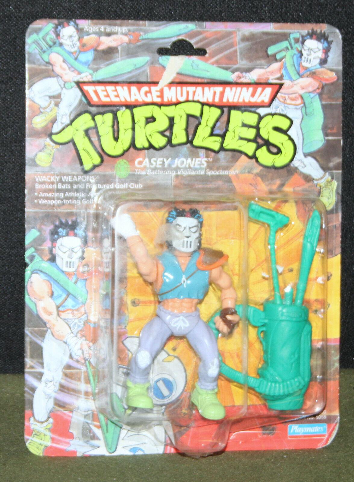Teenage Mutant Ninja Turtles 1989 Casey Jones Action Figure     Playmates 80dc52