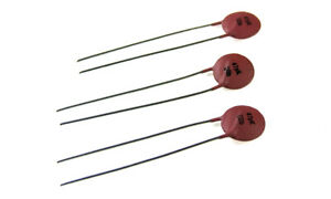 47pF 63V ±10 /% Ceramic Disc Capacitor NOS 20 pcs